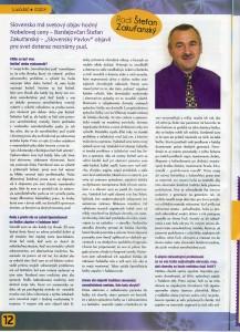 časopis Liečiteľ 2014
