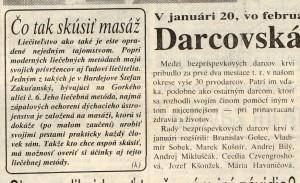 Bardejovské Novosti-marec 1993