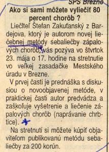 Horehronie máj 1996