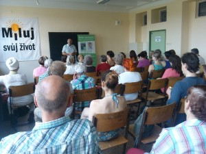 prednáška v Plzni