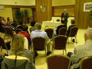prednáška v USA (Californii)